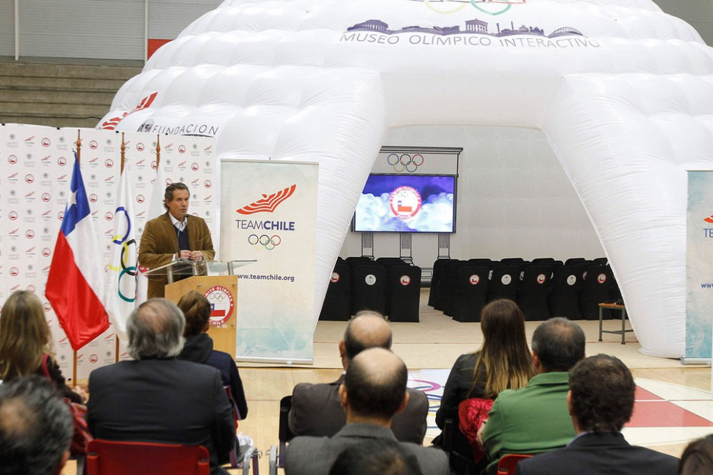 """Chilean Olympic Committee inaugurate """"travelling museum"""""""
