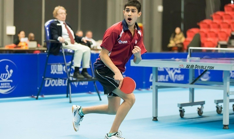 Jha becomes youngest man since 2009 to win United States National Table Tennis Championships men's title
