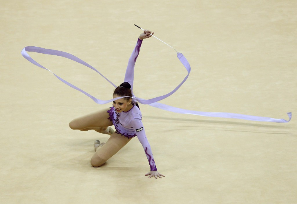 Bulgaria were competing in the absence of Tsvetelina Stoyanova as she continues her recovery from her fall last month ©Getty Images