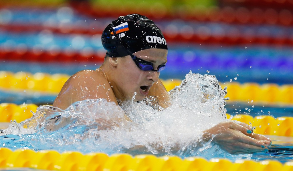 Russian swimmer Simonova handed four-year doping ban by FINA