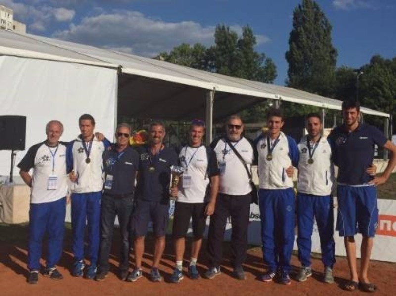 Italy claimed the men's team title at the European Modern Pentathlon Championships ©FIPM