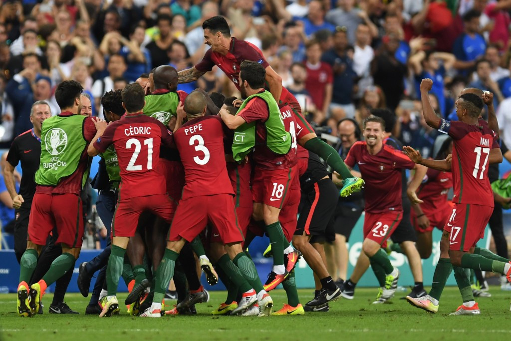 Portugal shrug off Ronaldo heartbreak to claim shock Euro 2016 extra-time victory over France