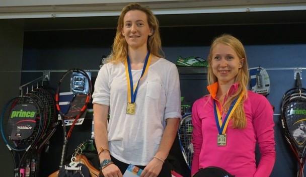 Millie Tomlinson won the women's prize ©PSA