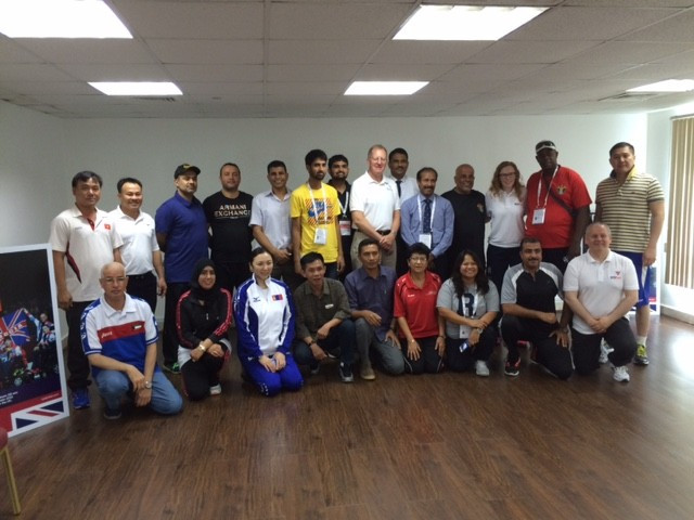 Boccia introduced to Asian countries at event in Dubai
