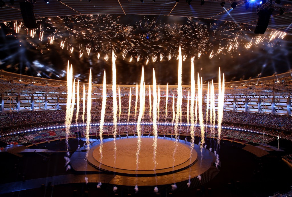 In pictures: The Baku 2015 Opening Ceremony