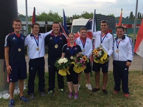 Parish leads successful final day for Britain at European Shotgun Championships