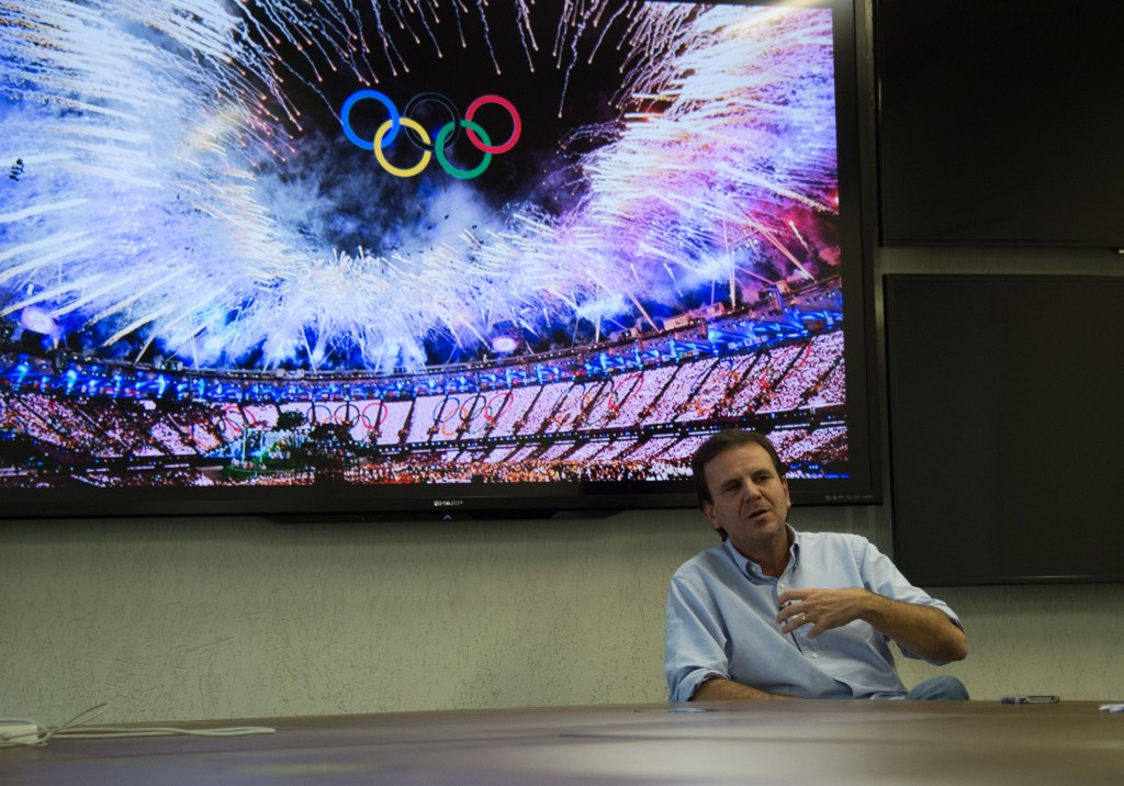 Rio Mayor Eduardo Paes has claimed that the Olympic Games have been a missed opportunity for Brazil ©Getty Images