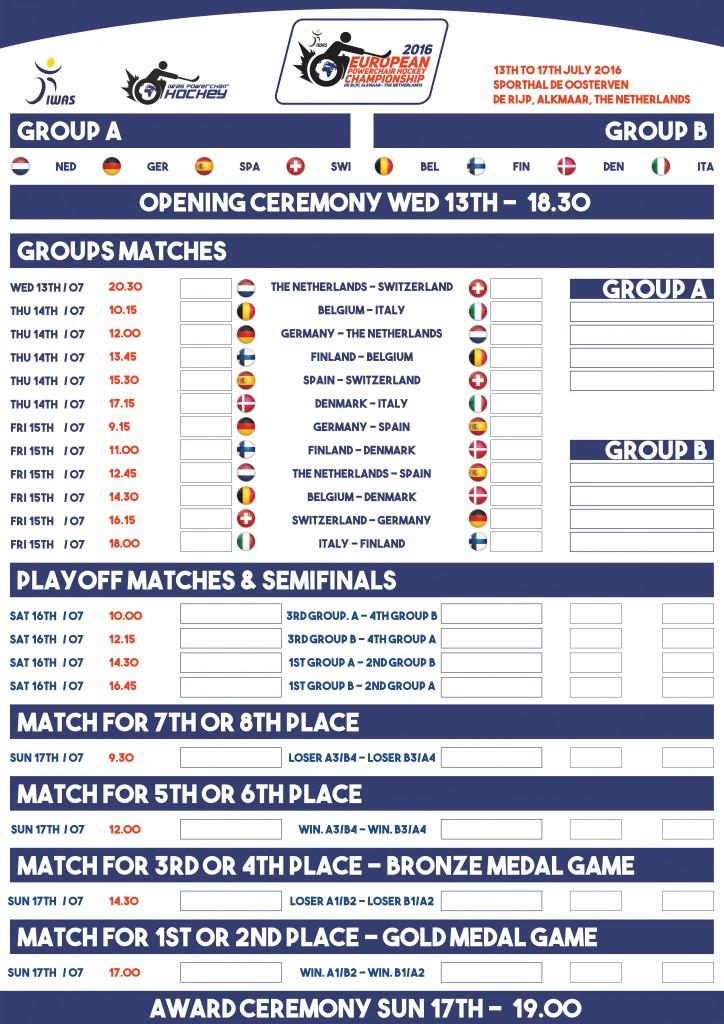 A packed schedule will begin in De Rijp tomorrow ©IWAS