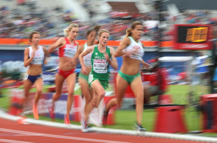 Ireland's Fionnuala McCormack, seen here in the 10,000m at the European Championships where she finished fourth in a race won by a Kenyan now representing Turkey, says the current use of the