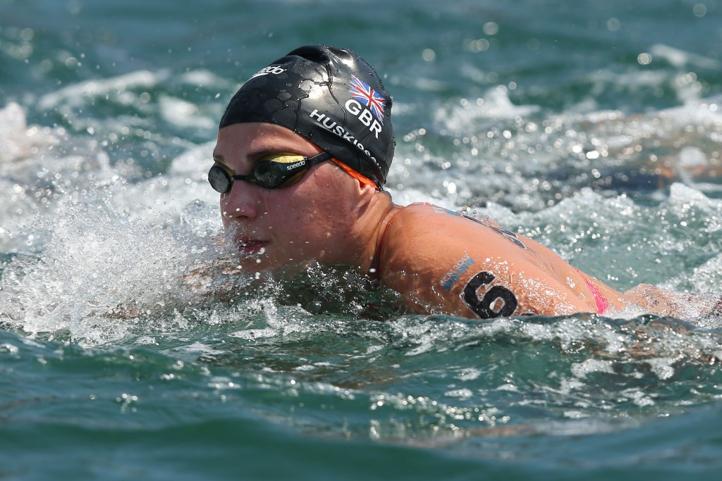 Huskisson claims biggest victory of career with gold at European Open Water Swimming Championships