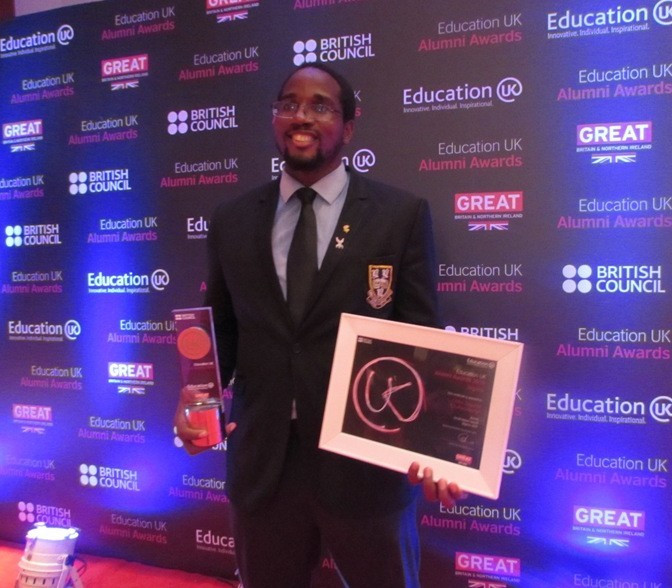 Chukwumerije work to help develop taekwondo in Nigeria recognised by British Council and Education UK