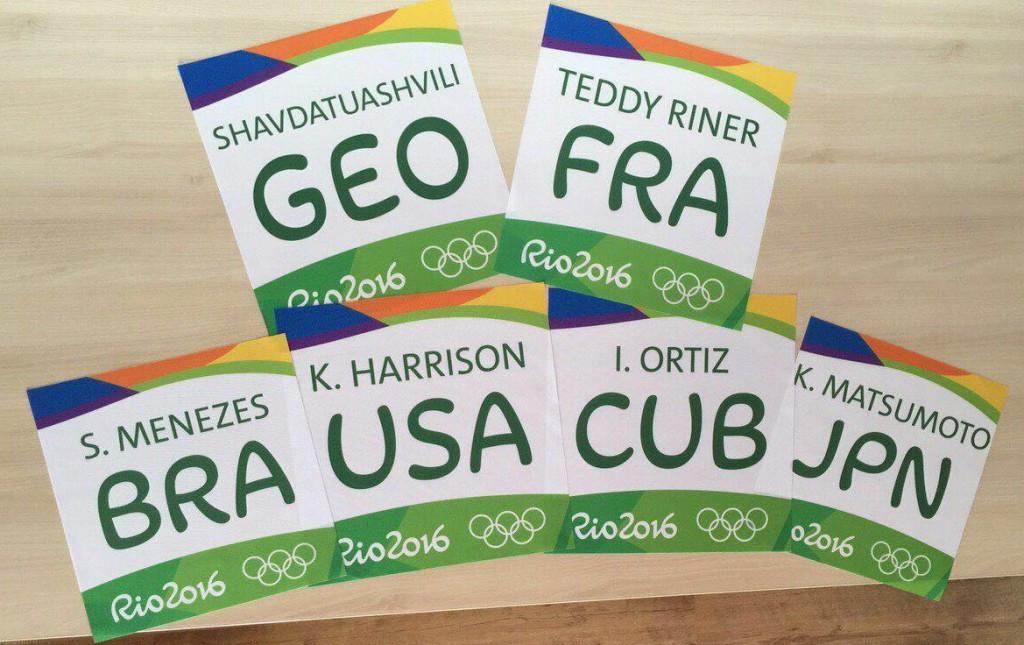 International Judo Federation unveils judogi backpatches for Rio 2016