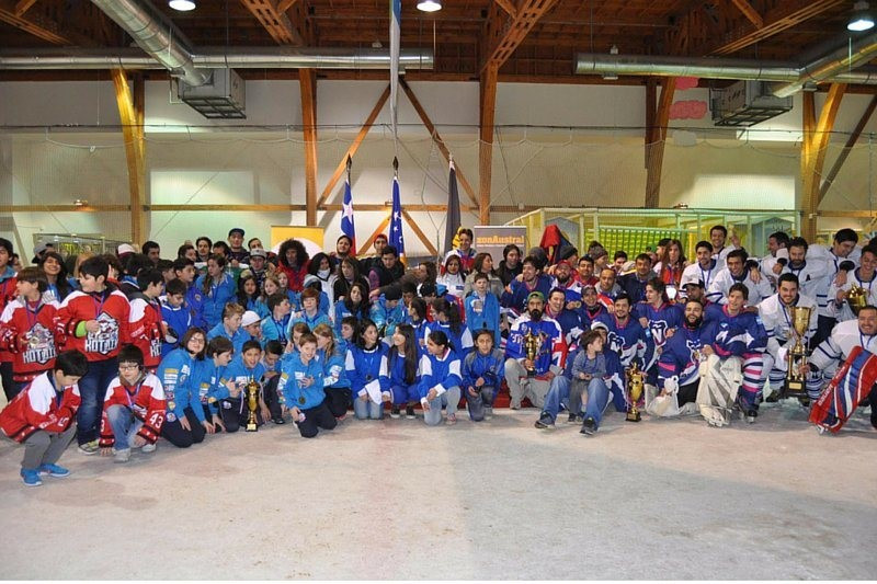 Falkland Islands youth ice hockey team triumphs at tournament in Chile