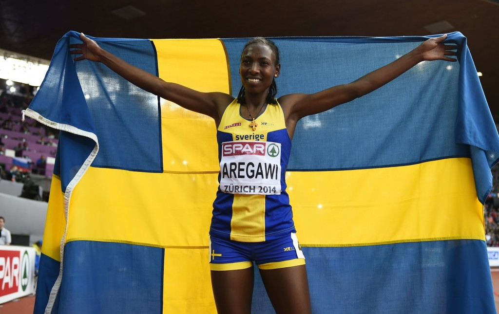 Former 1,500 metres world champion Abeba Aregawi could be cleared to compete at next month's Olympic Games ©Getty Images