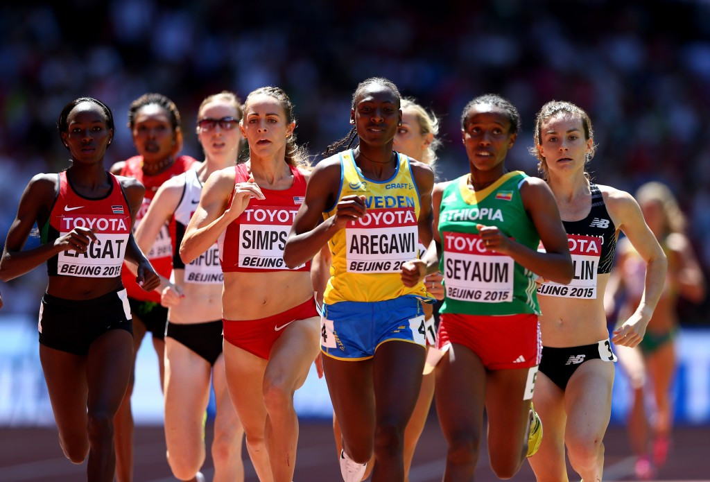 Former world 1500m champion Abeba Aregawi, who now represents Sweden, has become the latest athlete to have tested positive for meldonium to have her suspension lifted ©Getty Images
