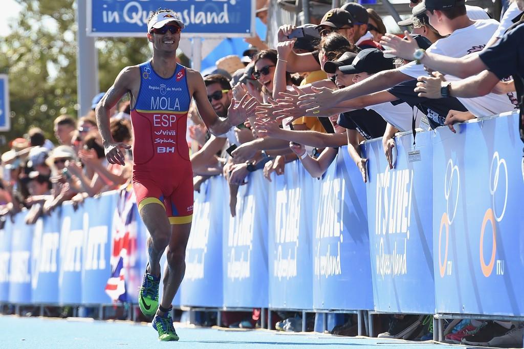 Triathlon stars Mola and Jorgensen play down water quality fears ahead of Rio 2016