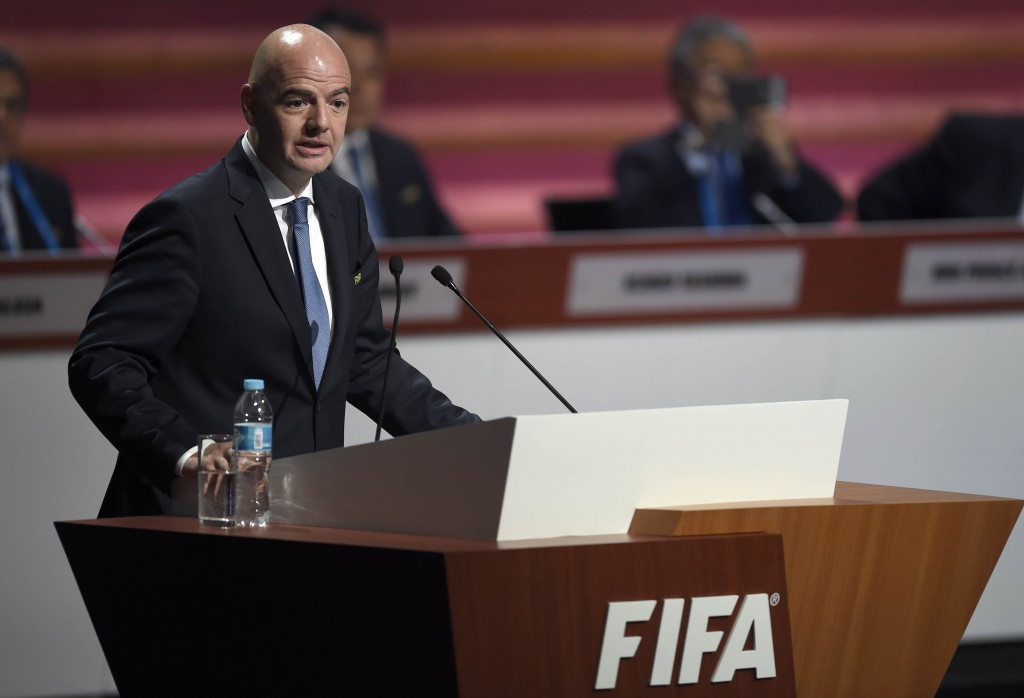 Accusations of wrongdoing by Gianni Infantino have gathered pace since the FIFA Congress in Mexico City ©Getty Images
