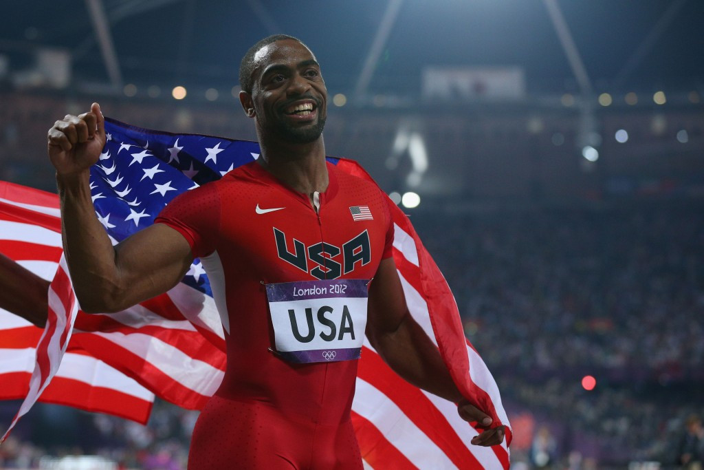 Tyson Gay tested positive for anabolic steroids in 2013, leading to the US disqualification ©Getty Images