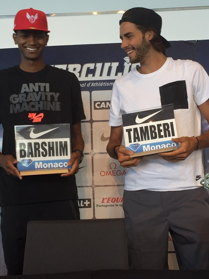 The IAAF Diamond League meeting in Monaco will be a vital part of the Olympic preparation for two high jumpers, Qatar's Mutaz Essa Barshim and Italy's Gianmarco Tamberi, two of the medal favourites for Rio 2016 ©Herculis