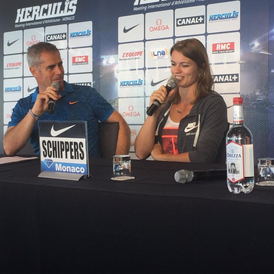 Dafne Schippers faces a high-quality field in the 100m in the IAAF Diamond League meeting in Moncaco ©Herculis