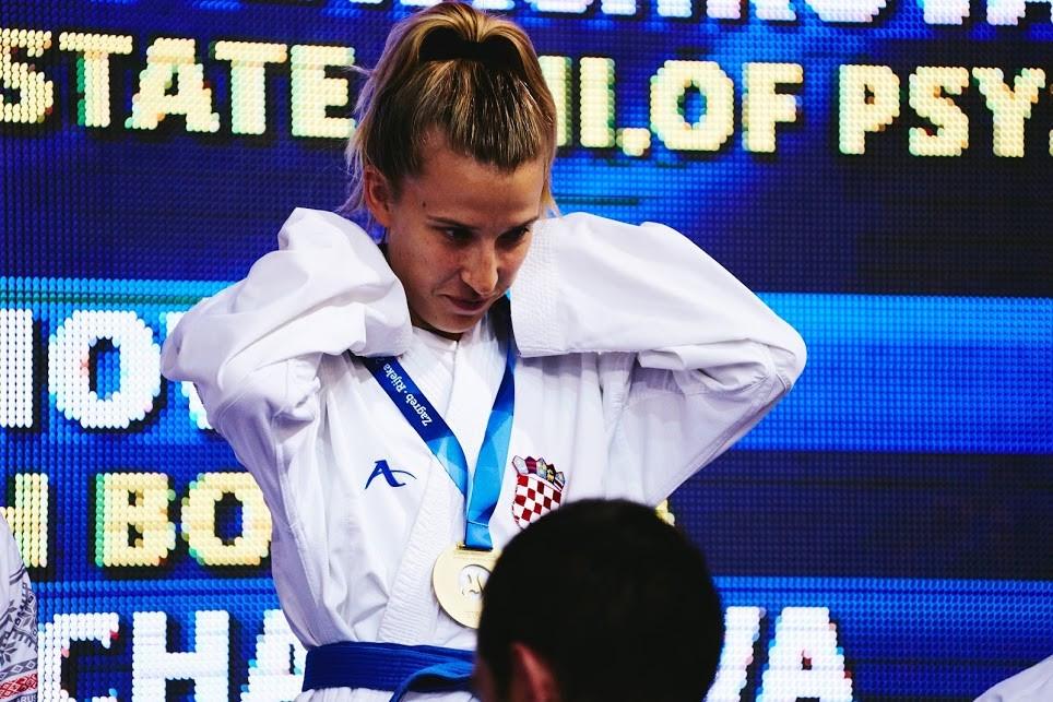 Home gold for karateka at European Universities Games in Croatia