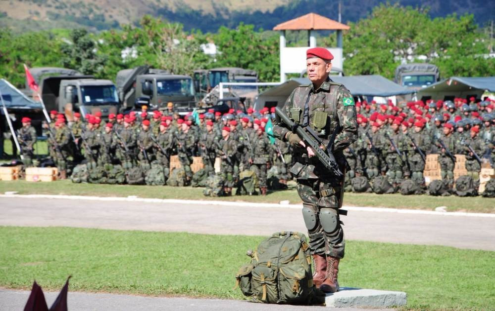 The Brazilian Government has given the country's armed forces a cash injection ahead of Rio 2016 ©Brazilian Army