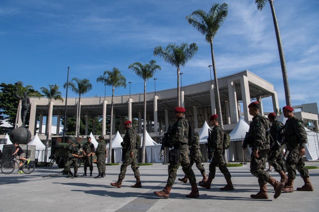 A total of 88,000 security forces are due to be deployed at Rio 2016 ©Getty Images
