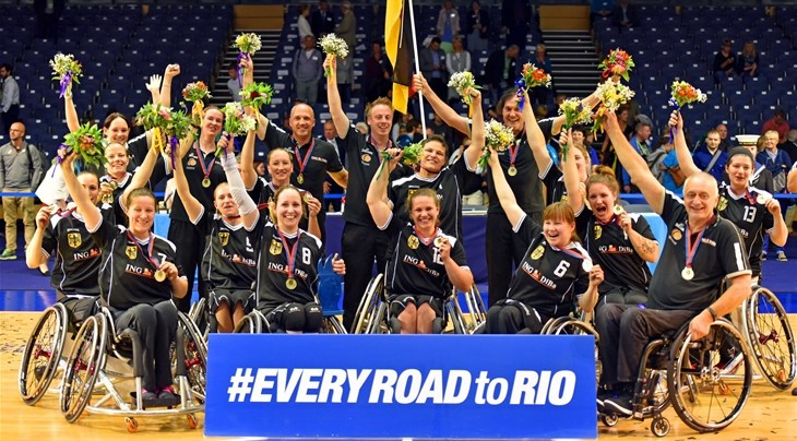 Germany will begin their title defence against hosts Brazil ©IWBF