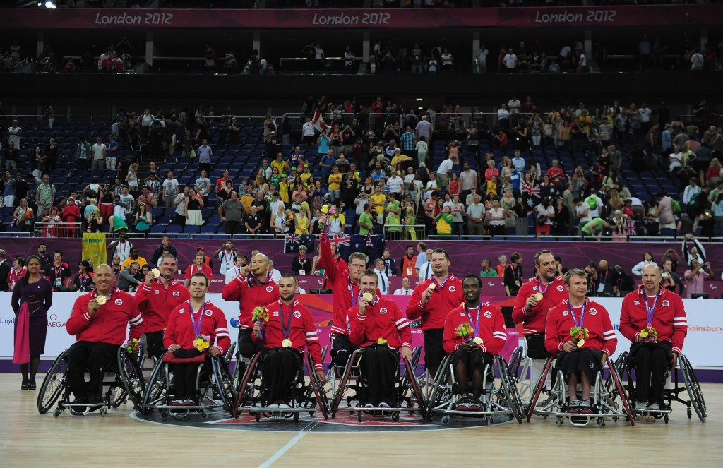 Paralympic champions Canada will face Spain in their first match of the 12 team men's event ©Getty Images