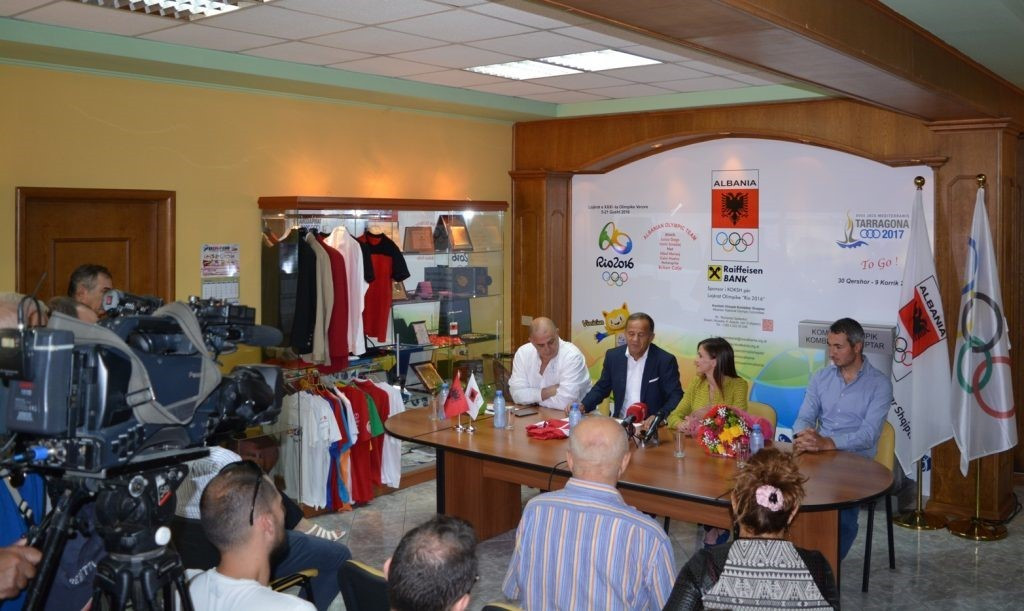 Albanian National Olympic Committee chief hails Gega for country's first European Athletics Championships medal