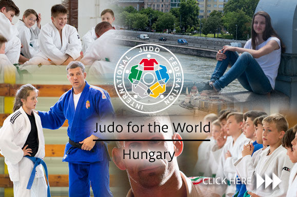 Hungary the focus of attention in latest IJF Judo for the World episode
