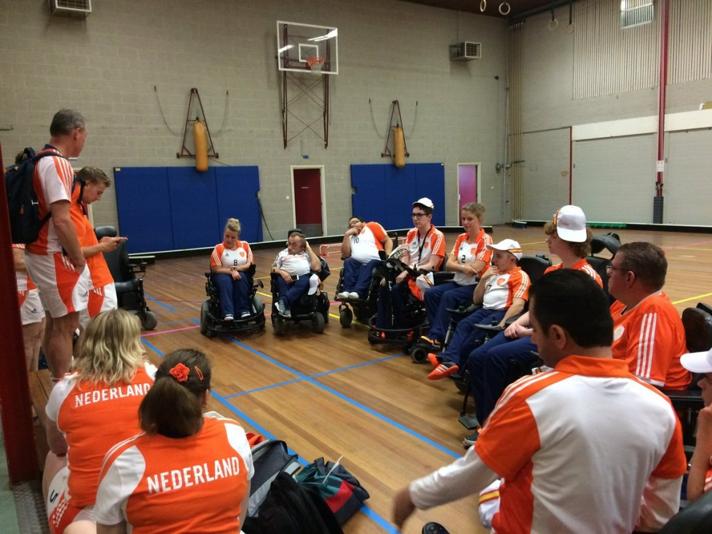 Dutch reach semi-finals with 100 per cent record at IWAS Powerchair Hockey European Championships