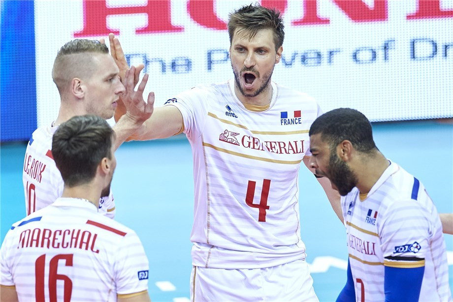 France reach semi-finals of FIVB World League with emotional win over Serbia