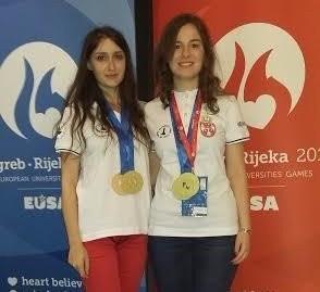 Serbian wins women's chess tournament at European Universities Games