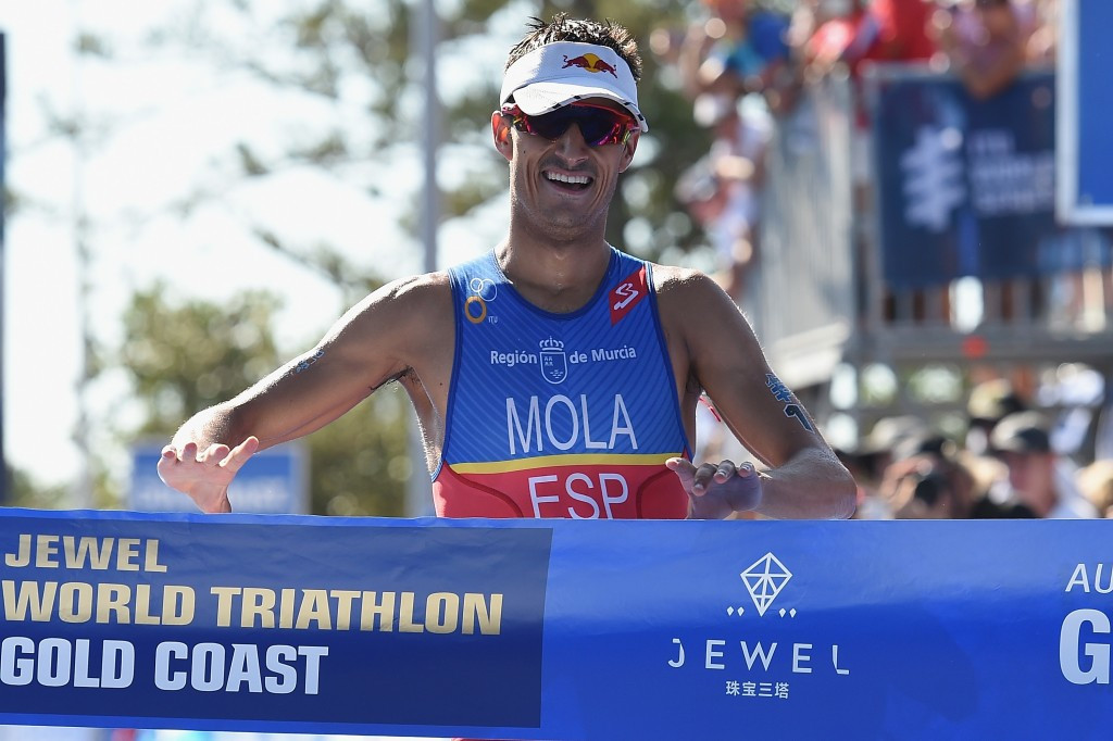 Mario Mola believes triathletes would relish the chance to compete for another medal should the discipline be included at Tokyo 2020 ©Getty Images