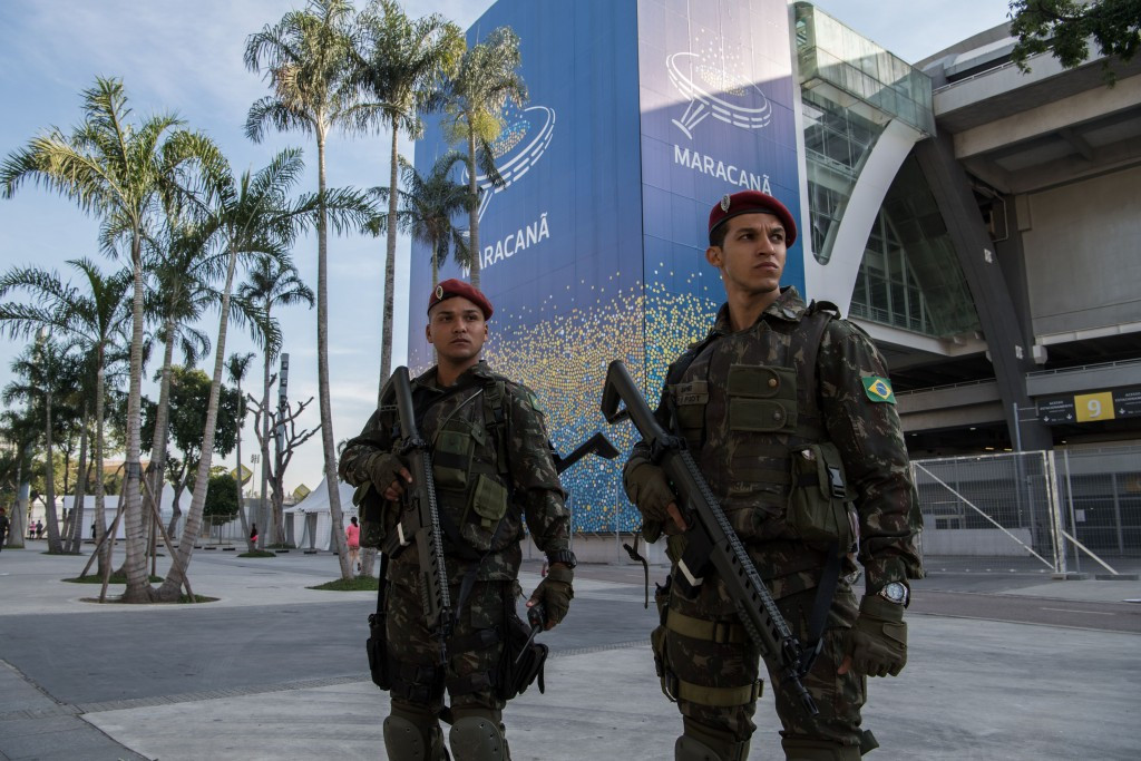 Security operations have taken place in Rio ©Getty Images