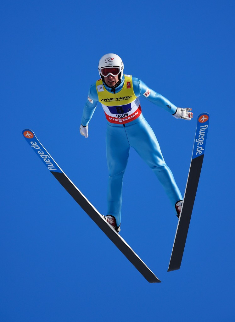 Olympic bronze medallist inaugurates new ski jumping hill