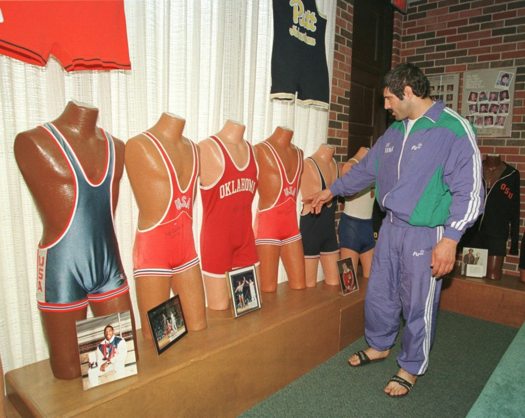 The National Wrestling Hall of Fame is located in Stillwater in Oklahoma ©Getty Images