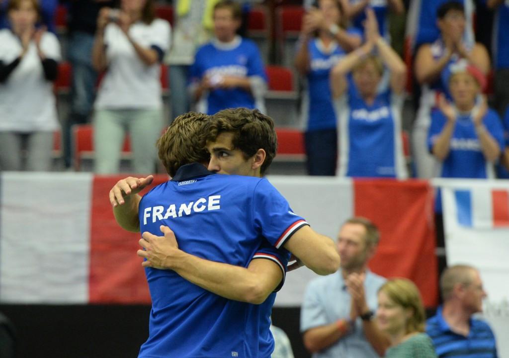Wimbledon champions put France in control of Davis Cup quarter-final
