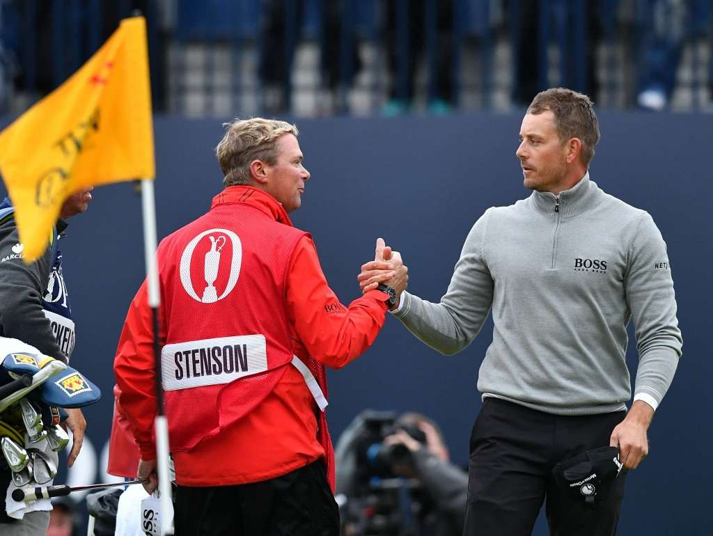 Stenson takes one-shot lead into final round at The Open Championship