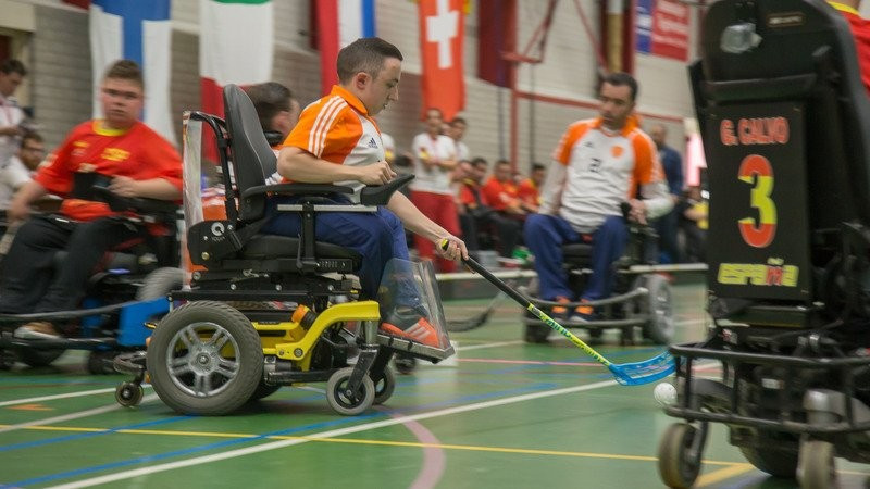 Dutch to meet Italy in IWAS Powerchair Hockey European Championships final