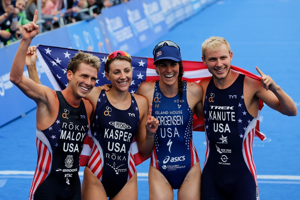 United States power to first Mixed Team Relay World Championships title