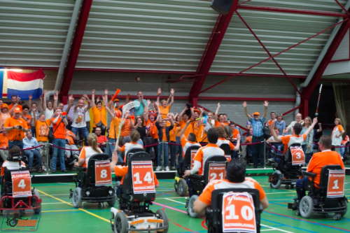The Netherlands delighted the home crowd with their triumph over Italy ©Twitter