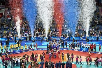 Serbia clinched their first-ever World League crown with victory over Brazil ©FIVB