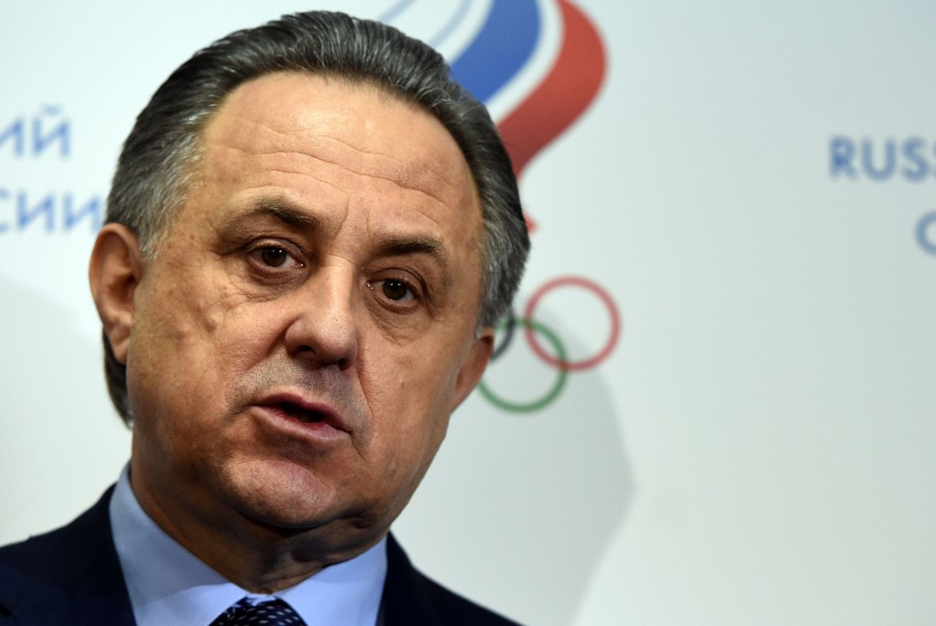 "Vitaly Mutko has claimed Russia will ""do everything to fight for the integrity and cleanliness of sport"" ©Getty Images"