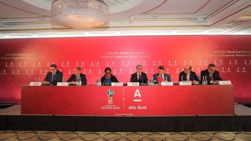 """Alfa-Bank unveiled as first """"Regional Supporter"""" for Russia 2018 FIFA World Cup"""