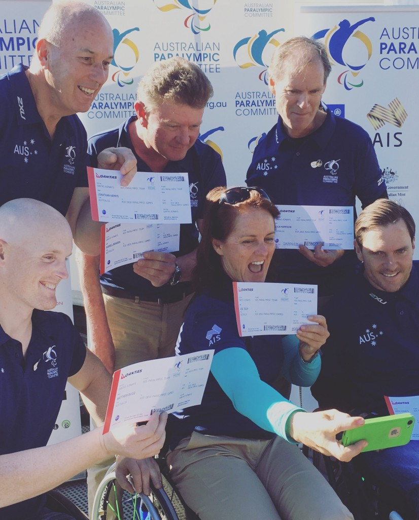 Australia are sending six sailors to the Paralympic Games ©Australian National Paralympic Committee