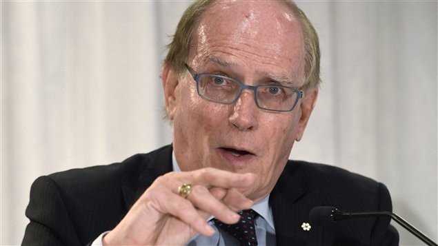 WADA's call for a ban on Russia followed the release of Richard McLaren's Independent Commission report here today ©Téléjournal Ontario/Twitter