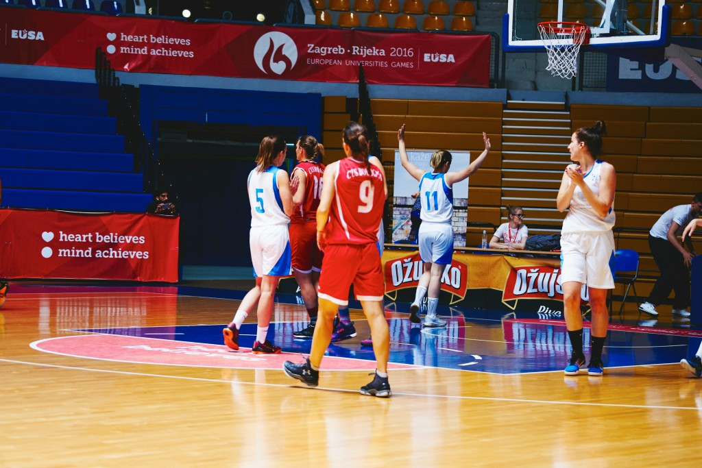 Hosts Zagreb to face Romanian opponents in women's basketball final at European Universities Games