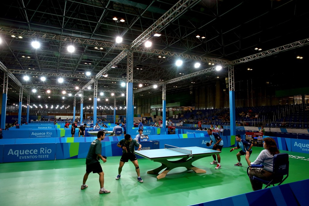 Table tennis was one of the sports surprisingly listed among 30 where Disappearing Positives were found in Russian competitors ©Getty Images